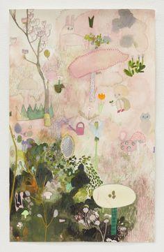 Tomoko Nagai 庭いじり 2014 35.0×23.0