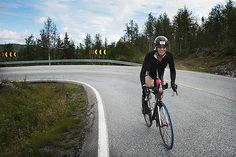 Cycling up hills and mountains