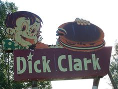 Dick Clark Hamburgers by nationalsavetheneonsignsmuseum, via Flickr