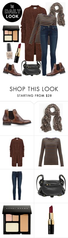 """""""Look of the day: October 22, 2015"""" by sara-lafrench ❤ liked on Polyvore featuring n.d.c., J.Crew, Acne Studios, Jigsaw, rag & bone, Jérôme Dreyfuss, Bobbi Brown Cosmetics and OPI"""