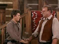 Little Joe and Hoss form a pact. From The Wooing of Abigail Jones (Bonanza)