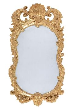 Lot: An Irish giltwood wall mirror, circa 1750 and later, Lot Number: 0257, Starting Bid: £710, Auctioneer: Dreweatts Donnington Priory, Auction: Fine Furniture, Works of Art, Ceramics, Glass, Date: March 29th, 2017 EEST