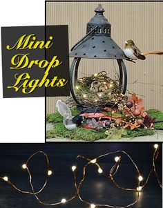 Mini LED Drop Lights, 20 ct. - Kruenpeeper Creek Country Gifts