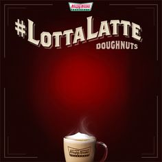 Even more irresistible when they're in motion! #LottaLatteDoughnuts