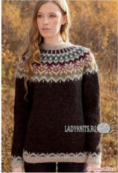Провожу опрос на вязание вместе свитера Лопапейса