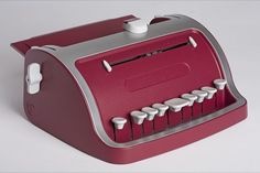 A redesign of the Perkins Brailler, a braille typewriter designed in 1951. Redone in 2008 by the product development branch of the Perkins School for the Blind.