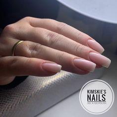 KimsKie's Nails   Kim de Boer op Instagram: 💅🏼 Russian Manicure & BIAB (Builder in a Bottle) application #kimskiesnails #kimskie #biab