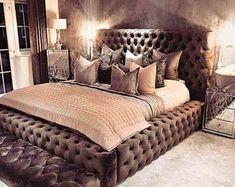 Bedroom Sets, Home Decor Bedroom, Living Room Decor, Dream Rooms, Dream Bedroom, Teen Bedroom Designs, Aesthetic Bedroom, Luxurious Bedrooms, New Room