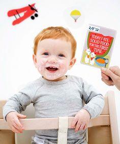 """Cartoline """"Prime Tappe Importanti"""" - Milestone Baby Cards - Regalo di Nascita Perfetto!"""