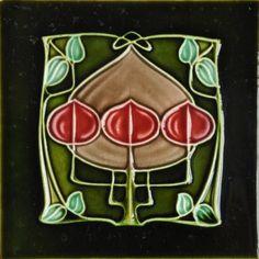Richards c1905/1907 - RS0243 - SW0006 - Art Nouveau Tiles