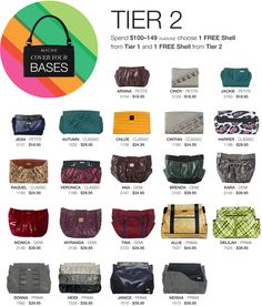 #Miche Cover Your Bases Sale - get a free shell for every $50 purchased for up to 3 free shells! Ends May 31