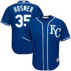 bbe1e253eab Eric Hosmer Kansas City Royals Majestic Big   Tall Alternate Cool Base  Replica Player Jersey -