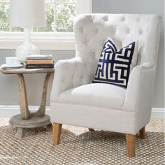 Eli Tufted Arm Chair & Reviews | Joss & Main