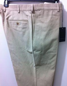 Luigi Bianchi Mantova Italian luxury Dressy Casual Pants  56/40W39W  NWT$450 #LuigiBianchiMantova #DressyCasualPants