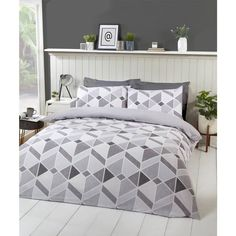 Good Pictures King Bedroom Sets grey Suggestions Enjoy a beautiful base and wish to layer your bed, very? At this point Grandin Roads is satisfied to talk abou. King Size Duvet Sets, King Size Bed Covers, King Bedroom Sets, Double Duvet Set, Linen Duvet, Grey Bedding, King Beds, Geo, Twin