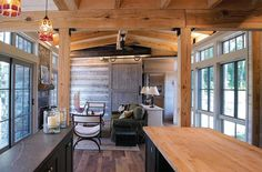 Miche Booz Architect Designs a Sustainable Weekend Cottage in Virginia | Custom Home Magazine | Projects, Green Design, Green Building, Post-Occupancy Performance, Winchester, VA-WV, Washington-Arlington-Alexandria, DC-VA-MD-WV, Miche Booz, Joe Harris, Miche Booz Architect, Virginia