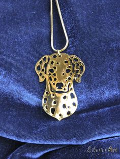 Golden Retriever jewelry gold pendant and necklace Dog jewelry