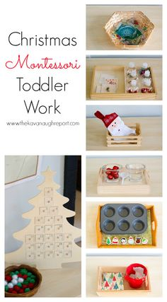 The Kavanaugh Report: Montessori Christmas Trays for Toddlers