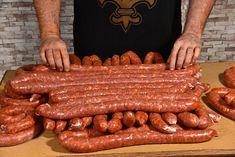 Csabai kolbász - Piroskockás Hungarian Recipes, Sausage, Bacon, Homemade, Breakfast, Food, Kitchens, Morning Coffee, Home Made