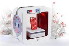Impressora 3D ecologicamente correta usa material reciclável