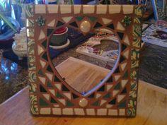 Green Heart Mosaic, Cream Heart Mosaic, Heart Mosaic, Heart Frame Mosaic, https://www.facebook.com/Heart2HeartMosaics