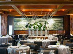 Eleven Madison Park: A New York, NY Restaurant. Known for American. Restaurant New York, New York Restaurants, Best Seafood Restaurant, Restaurant Design, Manhattan Restaurants, Seafood Menu, Easy Restaurant, Restaurant Concept, Restaurant Interiors