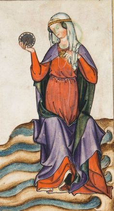 Apocalypsis cum figuris Publication date : Type : manuscript Language : latin Medieval Times, Medieval Art, Medieval Clothing, Medieval Fashion, Asian History, British History, Medieval Paintings, Tablet Weaving, British Library