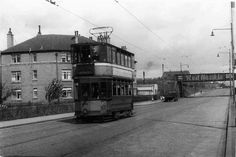 POSSIL Balmore Rd near Balmore Square 1950s-early 60s Glasgow City, Glasgow Scotland, West End, Transportation, Street View, Childhood Memories, 1950s, Cities, Pictures