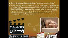 کلمه uncanny از کتاب Verbal Advantage – درس ۱