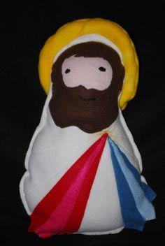 Saint Doll Divine Mercy Soft Catholic Religious Toy
