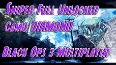 Sniper Full Unlocked Camo DIAMOND-- Black Ops 3 Multiplayer