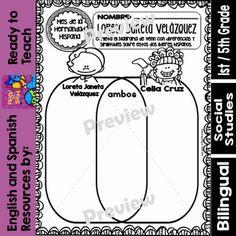 Hispanic Heritage Month - Loreta Janeta Velazquez - Worksheets and Readings-Dual Writing Strategies, Writing Ideas, Reading Comprehension For Kids, Hispanic Heritage Month, 2nd Grade Classroom, Comprehension Questions, Creative Teaching, Read Aloud, As You Like