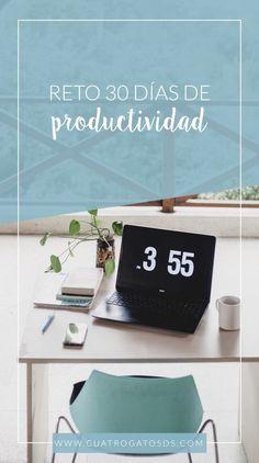 5 hábitos para mejorar tu productividad – CuatroGatosds