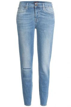 Seven for all Mankind Seven for all Mankind Distressed Skinny Jeans &#8211…