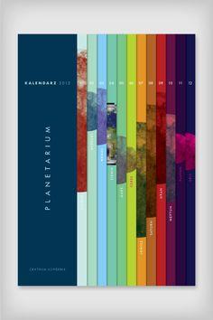 Calendar Planetarium by Emigo , via Behance