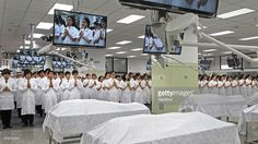 Students take part in a ceremony to pay respect to cadavers used for training and research at the Anatomy Lab of Chulalongkorn University dated August 7, 2014 in Bangkok, Thailand. Following the death of revered monk Luang Phor Khoon, many Thai people have begun following his example and donating their bodies to science upon their death. This has led to a welcome influx of cadavers used for training and research purposes at the Department of Anatomy of Chulalongkorn.