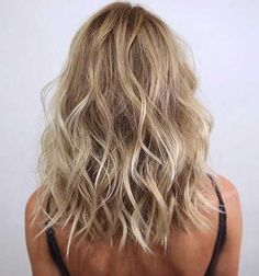 Image result for mid length blonde hair