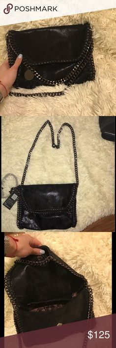 "Stella inspo ""Falabella"" Cross Body Side Chain Bag Not Stella. Price shows. No silly questions. BRAND NEW!!!! I have a similar one and was gifted this so i do not need this one. If you have any questions feel free to ask!!! Next day shipping  Stella McCartney Bags Crossbody Bags"