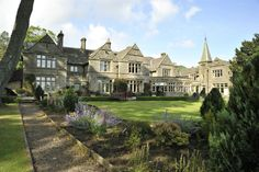 Simonstone Hall, Hawes, Wensleydale, North Yorkshire. Used as the Country Club and the the grounds for the Darrowby Country Show.