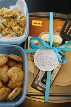 Now and Later Cookies - A Housewarming Gift