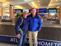 Jim Cantore & Mike Siedel Jim Cantore, The Weather Channel, I Laughed, Bomber Jacket, Guys, American, Childhood, Jackets, Fashion