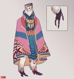 Character Design | The Brade by Zarnala.deviantart.com
