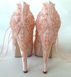 Weddings - An enormous and fun resource on information. romantic weddings theme blush eye popping help shown on this day 20190131 id 4261747152 Blush Bridal Shoes, Satin Wedding Shoes, Wedding Heels, Satin Shoes, Rustic Wedding, Lace Wedding, Colorful Wedding Shoes, Bridesmaid Shoes, Bridesmaids