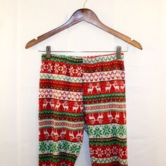"""Christmas Printed Warm Soft Cotton Leggings Size 6 Christmas Printed Warm Soft Cotton Leggings Women's Size 6 * Runs Small (fits like 2-4) * Super Comfortable just too short on me (I'm 5'9"""") * In Great Preowned Condition. Only Worn 1x. No Noted Flaws. * Bundles Available at a 5% discount.  * Please see pictures & ask questions! * Sorry No Trades. Pants Leggings"""