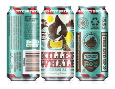 Bold City Brewery's cans designed by Kendrick Kidd.