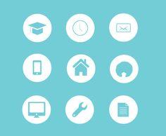 Iconos para currículum