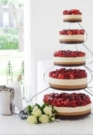 Image result for beach wedding cheesecake