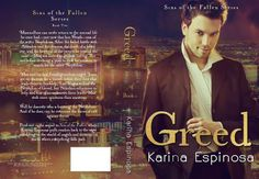 Cover Reveal and Giveaway: Greed – Sins of the Fallen Series by Karina Espinosa