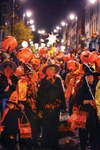 ireland celebrates halloween