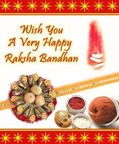 Wish you all a very happy Raksha Bandhan